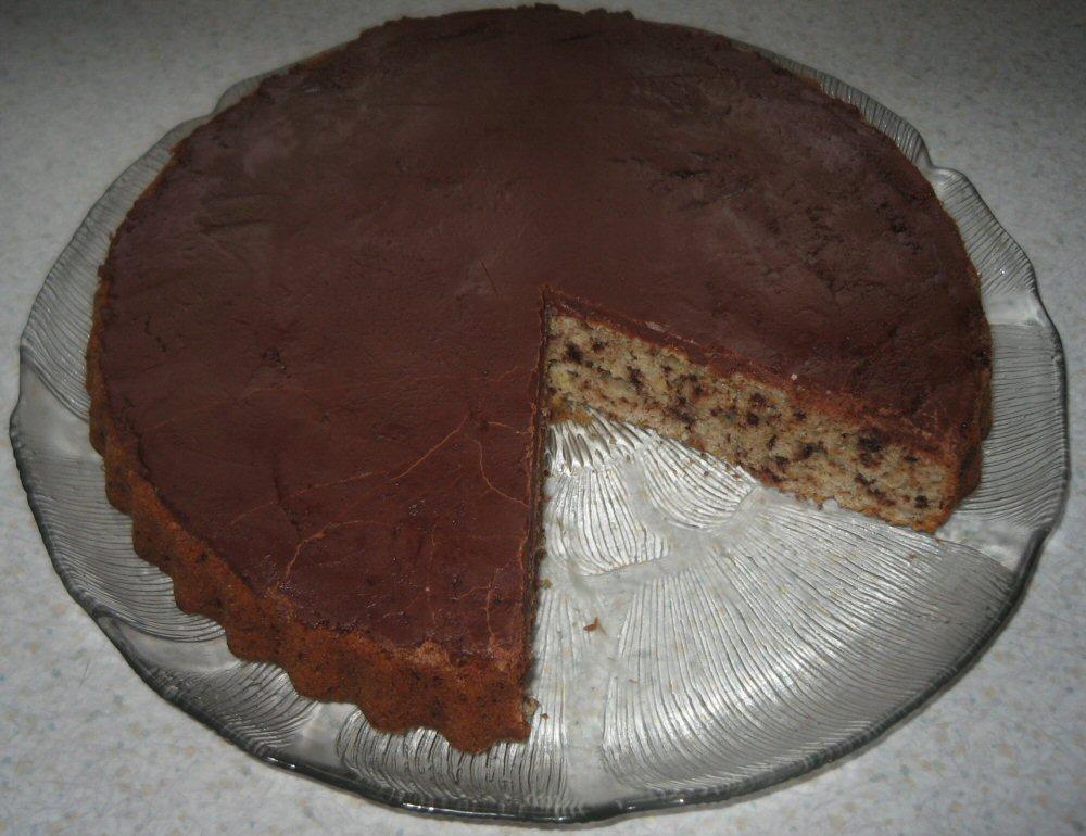 Banan Chokoladekage Mors Mad